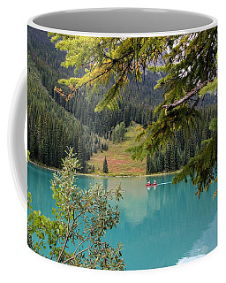 Emerald Lake British Columbia Coffee Mug by Lynn Bolt