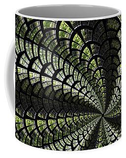 Emerald Whirl. Coffee Mug