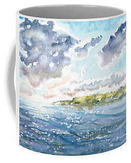 Emerging Sun  Coffee Mug