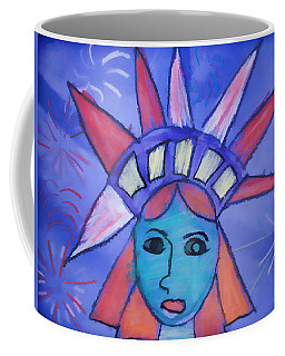 Emma's Lady Liberty Coffee Mug by Alice Gipson