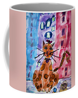 Emma's Spotted Kitty Coffee Mug