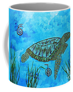 Emotional Healing With The Sea Turtle Coffee Mug