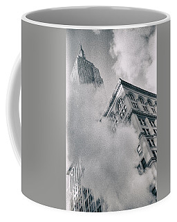 Empire State Building And Steam Coffee Mug