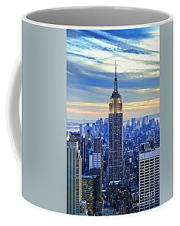 Empire State Building New York City Usa Coffee Mug