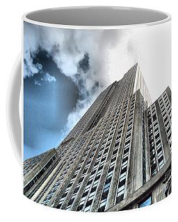 Empire State Building - Vertigo In Reverse Coffee Mug
