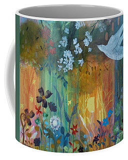 Coffee Mug featuring the painting Encantador by Robin Maria Pedrero