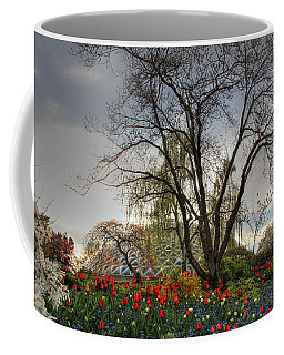 Coffee Mug featuring the photograph Enchanted Garden by Eti Reid
