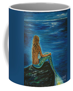 Enchanted Mermaid Beauty Coffee Mug by Leslie Allen
