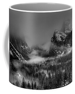 Enchanted Valley In Black And White Coffee Mug