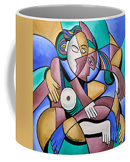 Coffee Mug featuring the painting Endless Love by Anthony Falbo