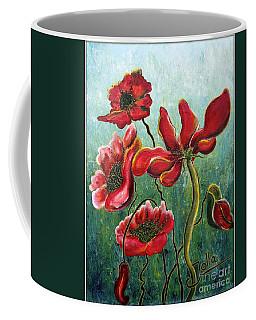 Endless Poppy Love Coffee Mug