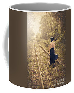 Engaged With Destiny Coffee Mug
