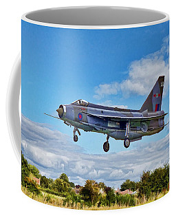 Coffee Mug featuring the photograph English Electric Lightning by Paul Gulliver