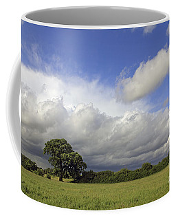 English Oak Under Stormy Skies Coffee Mug