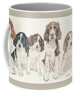 English Springer Spaniel Puppies Coffee Mug