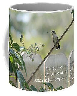 Hummingbird On Crepe Myrtle Coffee Mug