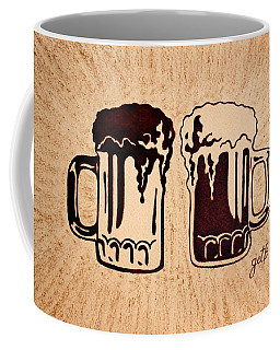 Enjoying Beer Coffee Mug