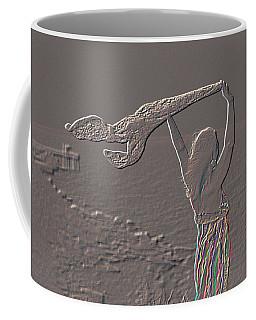 Enjoying The Ocean Breeze Coffee Mug