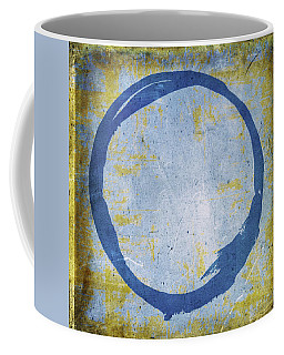 Enso No. 109 Blue On Blue Coffee Mug