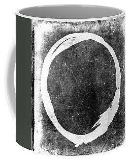 Enso No. 109 White On Black Coffee Mug