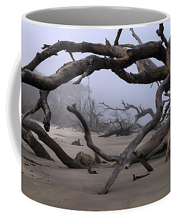 Coffee Mug featuring the photograph Entanglements by Laura Ragland
