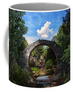 Entering The Garden Gate Coffee Mug