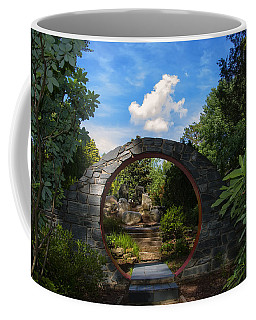 Entering The Garden Gate Coffee Mug