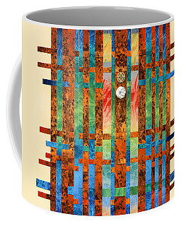 Entering The Temple Coffee Mug by Lynda Hoffman-Snodgrass