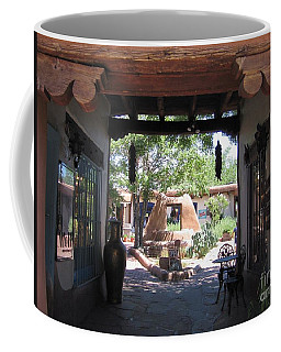Coffee Mug featuring the photograph Entrance To Market Place by Dora Sofia Caputo Photographic Art and Design
