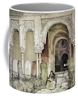 Entrance To The Hall Of The Two Sisters Coffee Mug