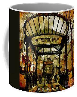 Entrance To The Paris Metro Coffee Mug