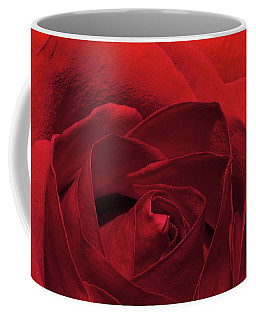 Enveloped In Red Coffee Mug