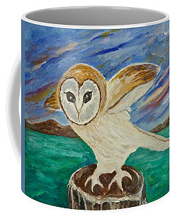 Equinox Owl Coffee Mug