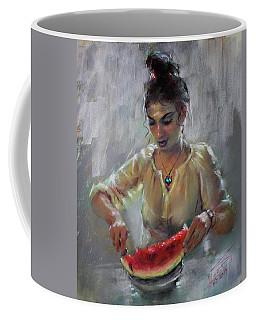 Erbora With Watermelon Coffee Mug