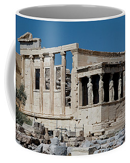 Erechtheion With The Porch Of Maidens Coffee Mug