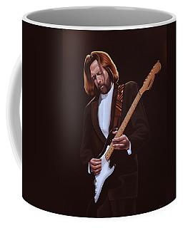 Eric Clapton Painting Coffee Mug
