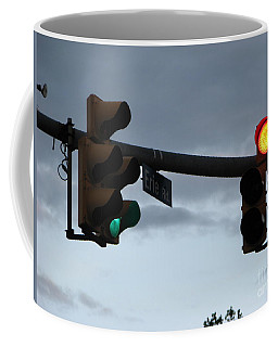 Coffee Mug featuring the photograph Erie Road  by Michael Krek
