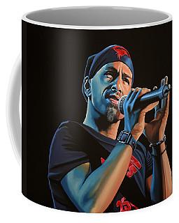 Eros Ramazzotti Painting Coffee Mug