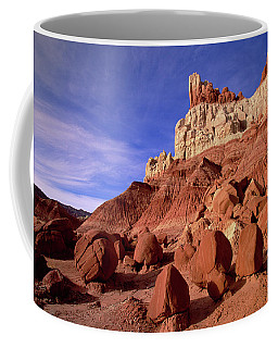 Coffee Mug featuring the photograph Escalante Grand Staircase Natl Monument by Yva Momatiuk John Eastcott