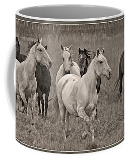 Coffee Mug featuring the photograph Escapees From A Lineup D8056 by Wes and Dotty Weber