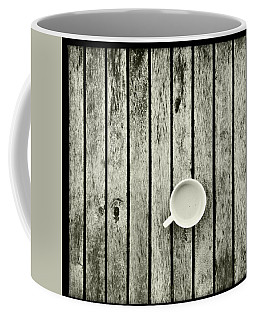 Espresso On A Wooden Table Coffee Mug by Marco Oliveira