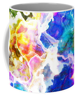 Essence - Abstract Art Coffee Mug by Jaison Cianelli