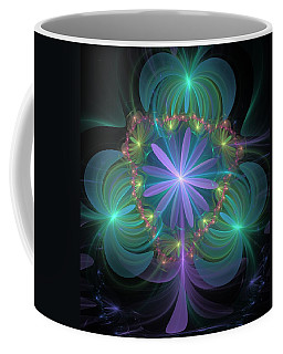 Ethereal Flower On Vacation Coffee Mug by Svetlana Nikolova