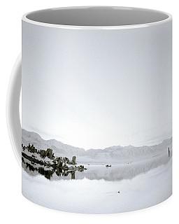 Ethereal Mono Lake Coffee Mug by Shaun Higson