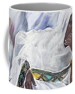 Ethiopian Orthodox Jewish Woman Coffee Mug by Vannetta Ferguson