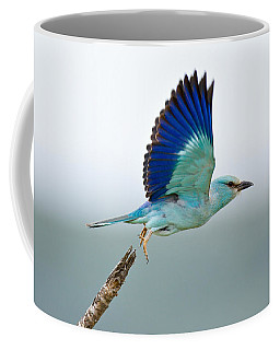 Eurasian Roller Coffee Mug