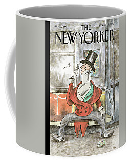 Eustace Spreads Coffee Mug