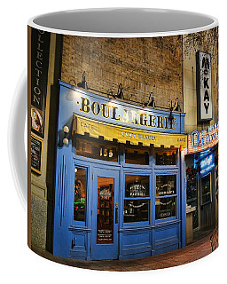 Coffee Mug featuring the photograph Eva's Bakery  by Ely Arsha