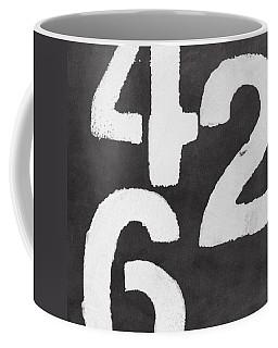 Even Numbers Coffee Mug by Linda Woods