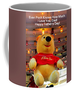 Even Pooh Knows Card Coffee Mug